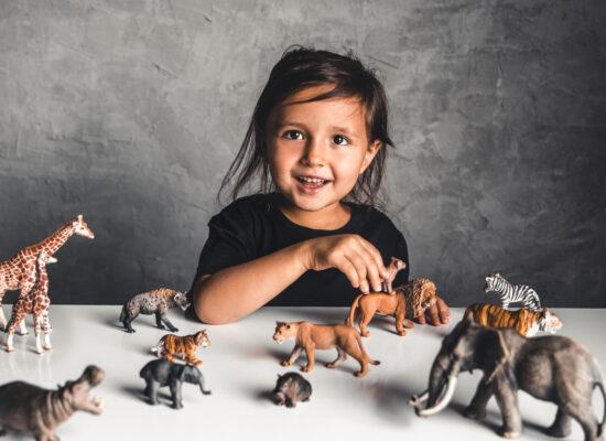 dạy bé các con vật